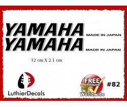 Yamaha Guitar Decal #82